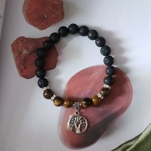 💎 2 for $25 💎 Tigers Eye Diffuser Bracelet